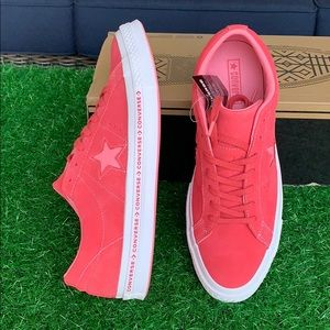 Converse One Star OX paradise pink/geranium pink M